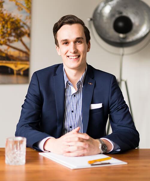 Spezialist für Altersvorsorge und Berufsunfähigkeit Vincent Hassenstein